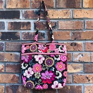 Vera Bradley Pink Mod Floral Tote - Retired